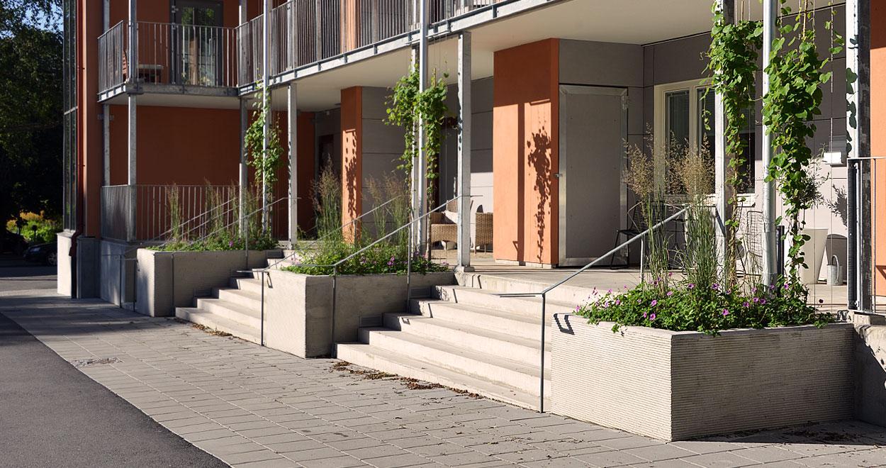a-sidan arkitekt arkitektkontor Uppsala ombyggnad flerbostadshus Fålhagen brf bostadsrättsförening Rikshem hem