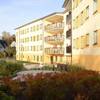 a-sidan arkitekt arkitektkontor Lidingö äldreboende silverhemmen nybyggnad