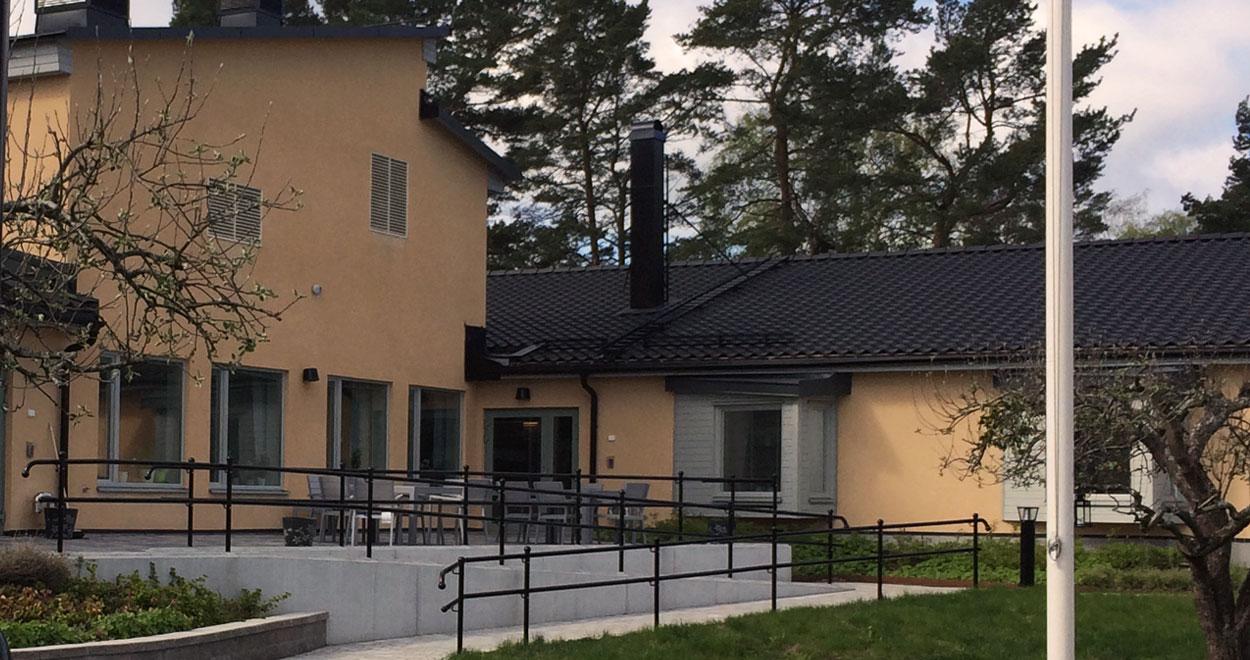 a-sidan arkitekt arkitektkontor vårdboende Solgården Upplands-Bro