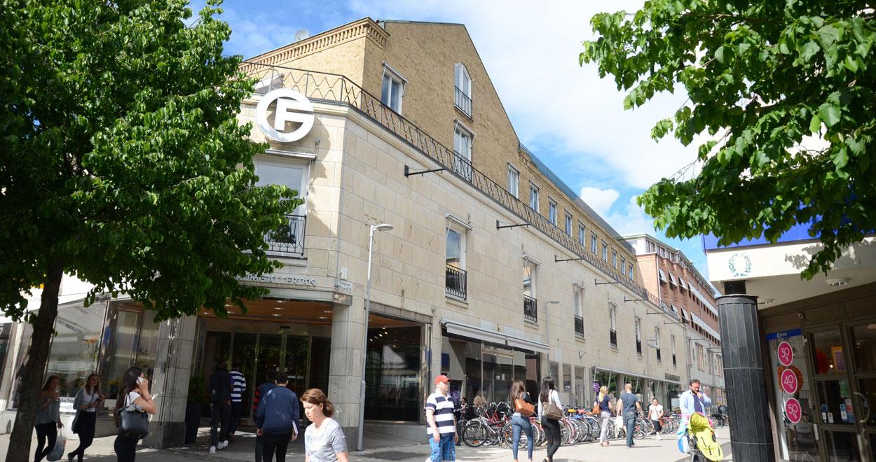 a-sidan arkitekt arkitektkontor Uppsala ombyggnad kulturbyggnad Spritpalatset Uppsala Atrium Ljungberg Forumgallerian