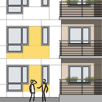 a-sidan arkitekt arkitektkontor Uppsala nybyggnad flerbostadshus Gävle Strand Alderholmen Gavlegårdarna