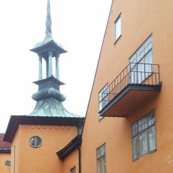 a-sidan arkitekt arkitektkontor kulturmiljö arbetsplats Elisabethsjukhuset Uppsala