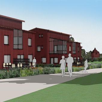 a-sidan arkitekt arkitektkontor Uppsala Stockholm detaljplaneunderlag Tibble äng hem