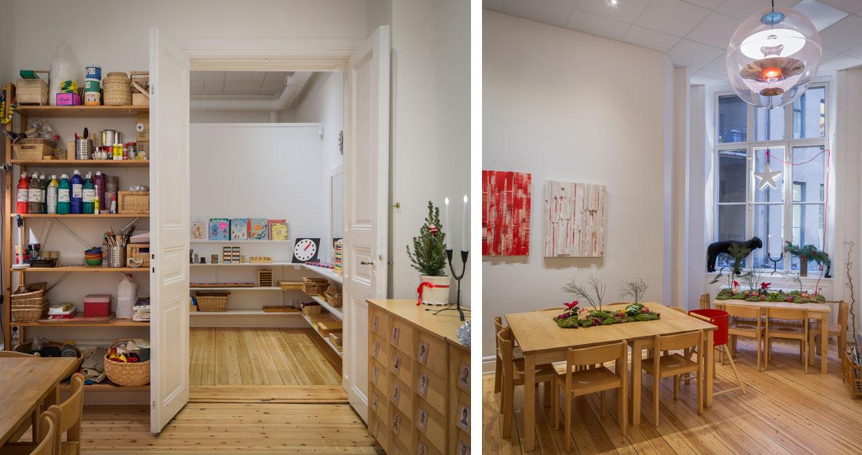 a-sidan arkitekt arkitektkontor Uppsala Stockholm Förskola Grev Turgatan fiskeriverket KM Frykolm AB arbetsplats