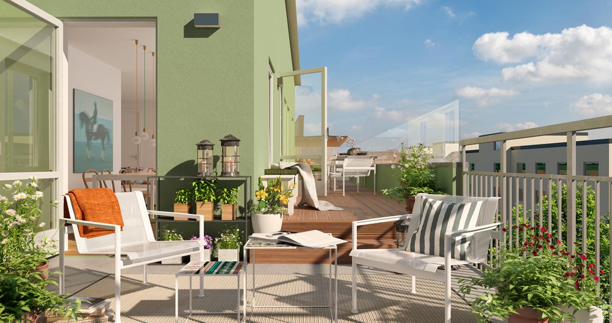 a-sidan arkitekt arkitektkontor Uppsala nybyggnad flerbostadshus Luthagen brf bostadsrättsförening Besqab nyproduktion hem