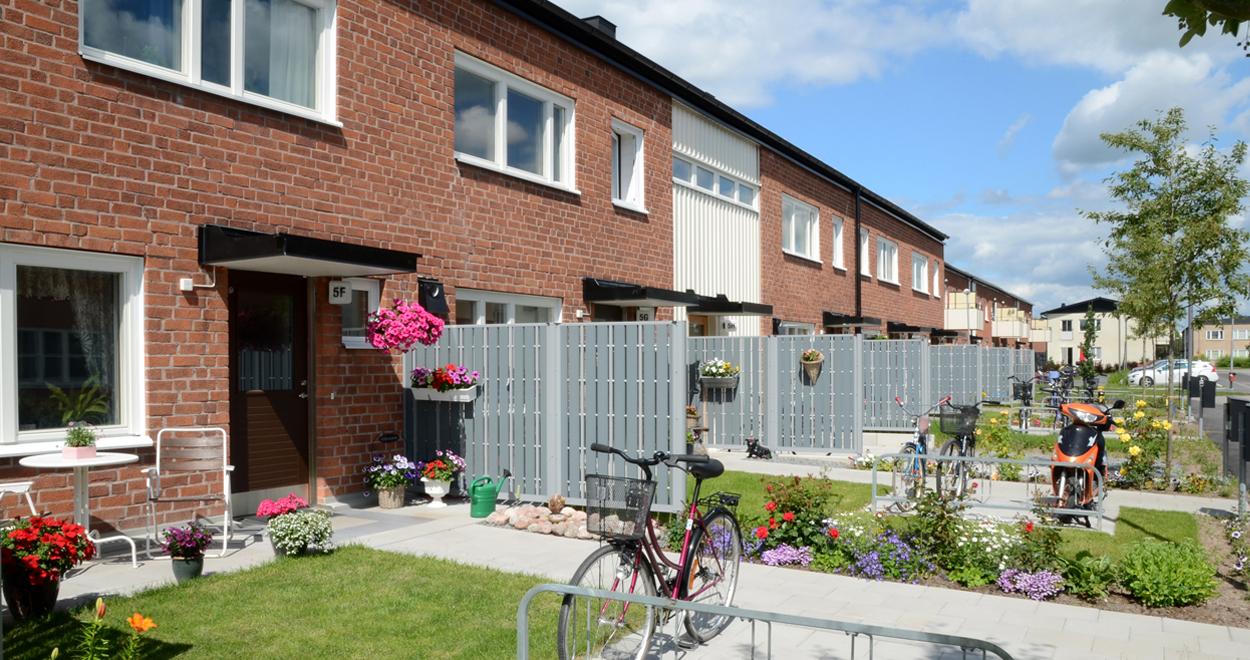 a-sidan arkitekt arkitektkontor Uppsala ombyggnad flerbostadshus Fålhagen bostad Uppsalahem Rikshem hem