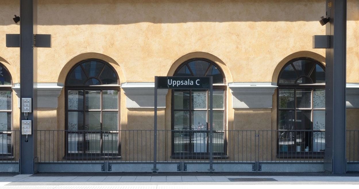 a-sidan arkitekt arkitektkontor Uppsala gamla centralstationen kulturmiljö renovering restaurering arkitektur historia
