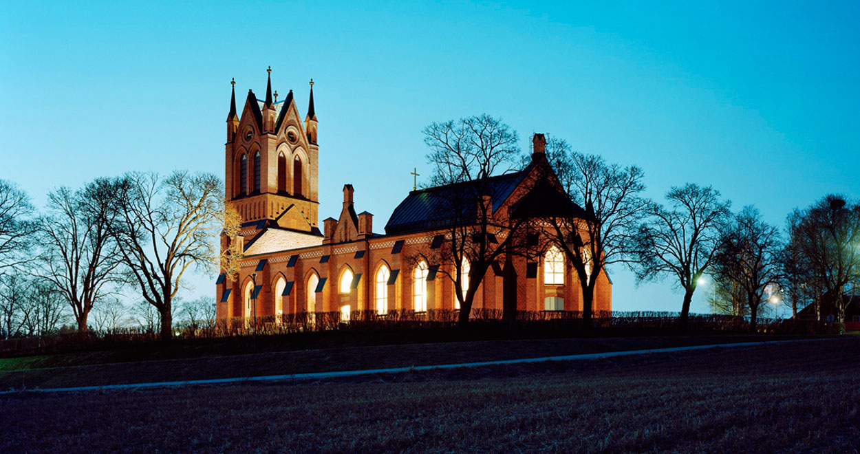 a-sidan arkitekt arkitektkontor Trönö kyrka ljuspriset arkitektur