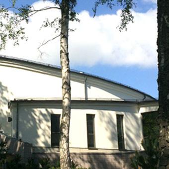 a-sidan arkitekt Uppsala arkitektkontor avsked kulturmiljö begravning ceremonilokal Saltsjöboo Saltsjö-Boo Saltsjö Boo Svenska kyrkan