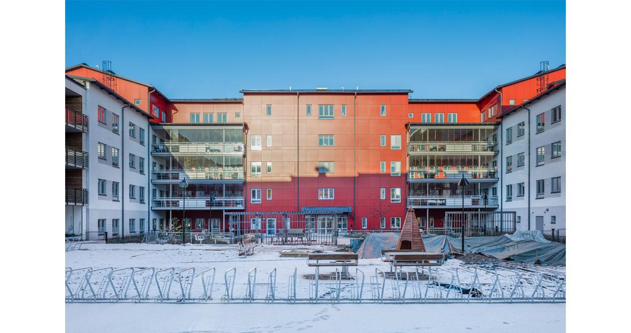 Bostäder Gävle a-sidan Arkitekter arkitekkontor vårdboende sjönära