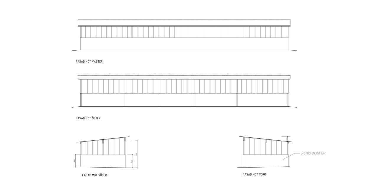 Arkitektur a-sidan Ockelbo ekonomigård Begravningsverksamhet Hus