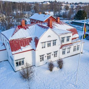 Arkitektur, Ljusdal, kontor